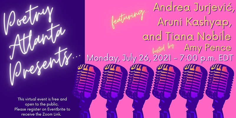 Upcoming reading featuring Andrea Jurjević, author of Nightcall